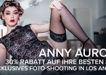 Anny Aurora: Exklusiv-Shooting für EROTIK.com